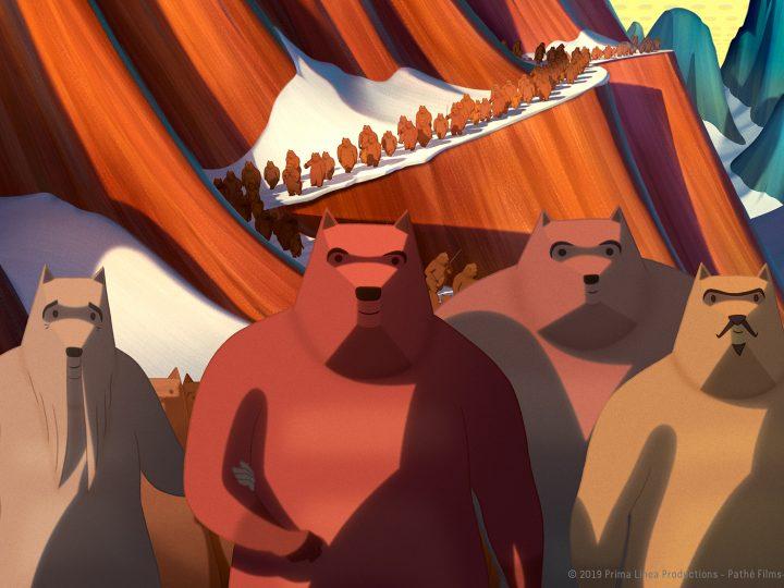 Arriva al cinema La famosa invasione degli orsi in Sicilia