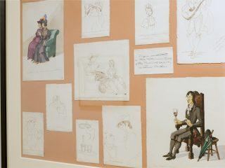 Le illustrazioni di Anna Marongiu al MAN di Nuoro