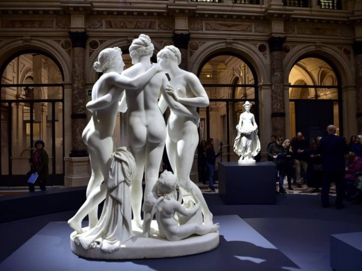 Anteprima Art Night: Canova e Thorvaldsen alle Gallerie d'Italia