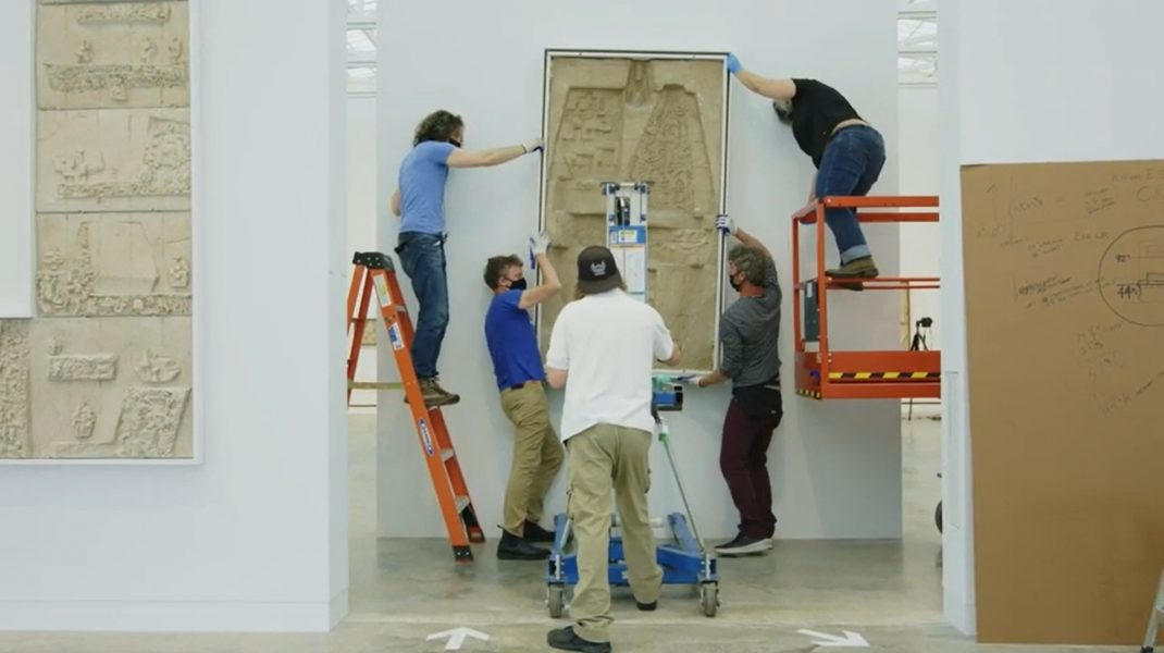 """Magazzino Italian Art presenta la mostra """"Nivola: Sandscapes"""""""